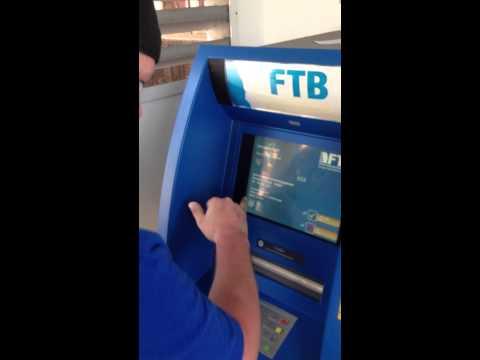 Cambodian ATM Machine