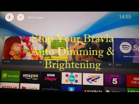 Stop Your TV Brightening & Dimming Automatically - YouTube
