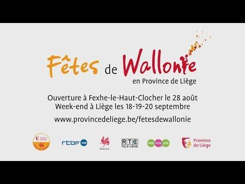 Province de Liège - Fêtes de Wallonie 2015 en Province de Liège