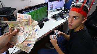 LE DOY 50€ a MI HERMANO por cada GOL en FIFA 19
