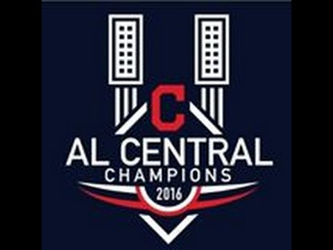 Cleveland Indians 2016 American League Central Champs!