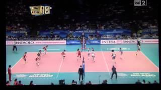 ITALIA vs CINA - Mondiali Volley Femminile 2014 - ultime fasi di gioco