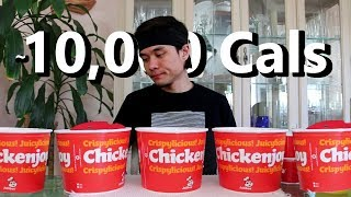 Jollibee Five (5) Bucket Fried Chicken Challenge
