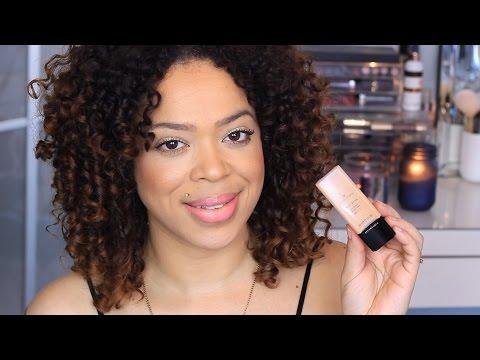 Review   Illamasqua Skin Base Foundation   Demo   Vilma Marie