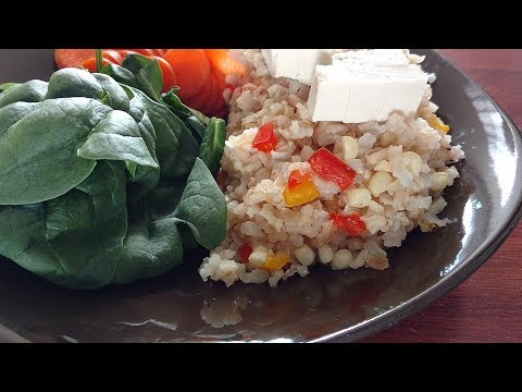 Easy Brown Rice Recipe! - Vegan Recipes!