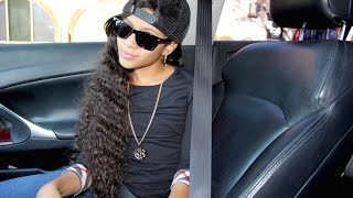 """BABY KAELY """"MONSTER"""" RAPPING LIVE IN CAR (10 YR OLD KID RAPPER)"""