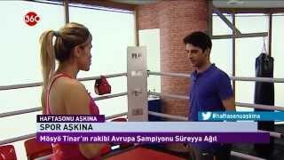 Gambar cover '' Süreyya AĞIL ile Kick Boks ''  SKY TURK 360 TV'de