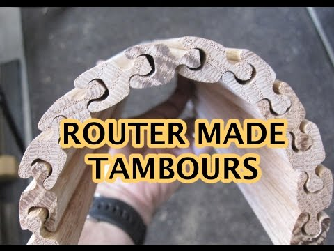 Router Made Tambours