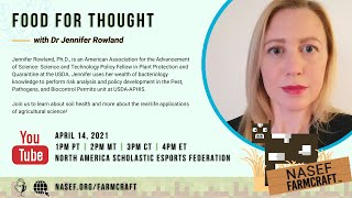 Food for Thought featuring Dr. Jennifer Rowland | NASEF Farmcraft 2021