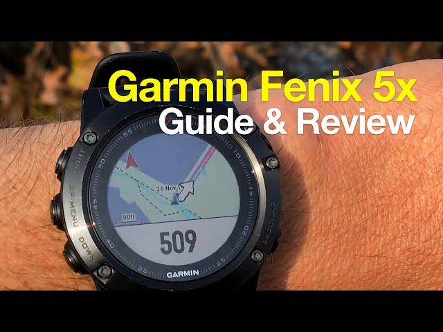 Garmin Fenix 5x Hiking Review & Easy Use Guide - HikingGuy com