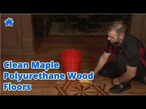 Flooring Tips How To Clean Maple Polyurethane Wood Floors Youtube