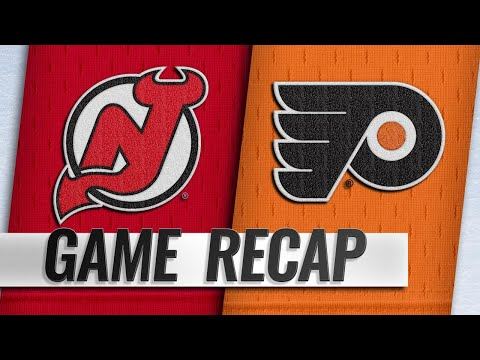 Voracek's late goal lifts Flyers past Devils