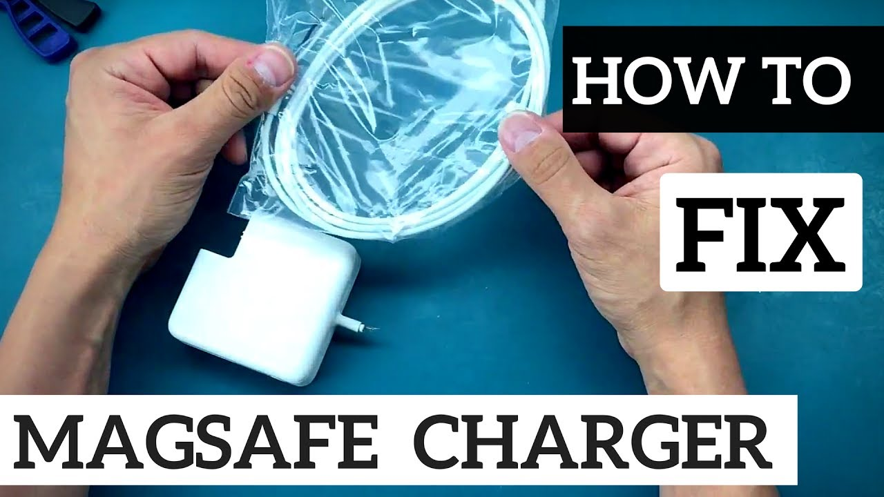 How to Fix Apple MagSafe Power Adapter Cable for $5 - YouTube