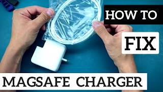 How To Repair Apple MacBook Power Supply Charger -  Apple Magsafe 60W A1184  - Fix Broken Cord