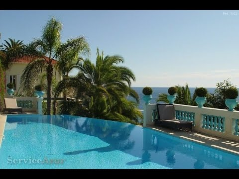 Luxury villa for rent in Cap d'Ail Cote d'Azur