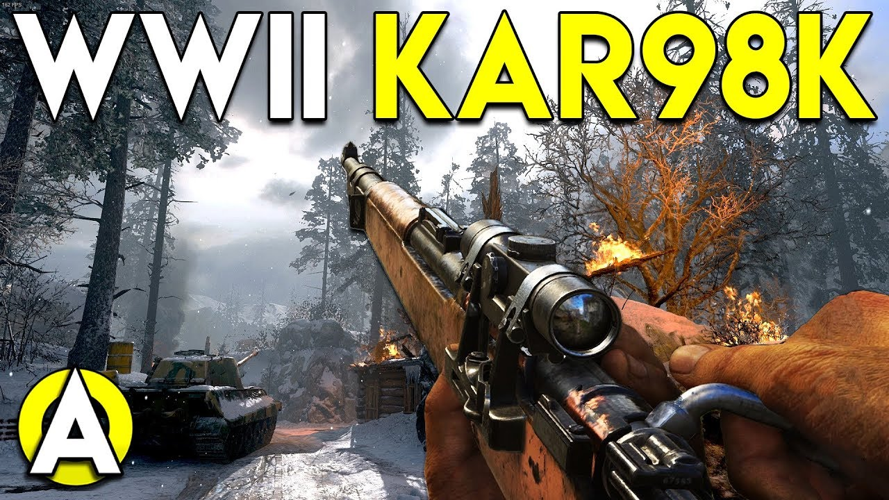 Wwii kar98k cod wwii pc gameplay tdm youtube - Cod ww2 4k pc ...