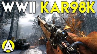 WWII KAR98K - CoD: WWII PC Gameplay (TDM)