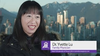 Dr. yvette lu talks about her reasons for producing and hosting house call.