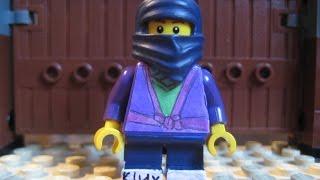 Lego ninjago custom minifigure 2016 summer purple ninja
