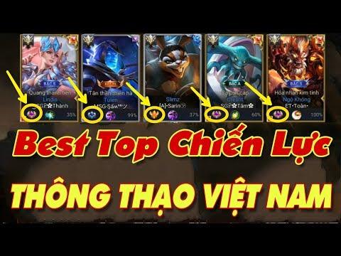 [Gcaothu] Best top chiến lực thông thạo Việt Nam - 10 người chơi thì 9 người đều không biết