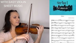 Video PERFECT BY ED SHEERAN | EASY TUTORIAL with EASY sheet music download MP3, 3GP, MP4, WEBM, AVI, FLV Juli 2018