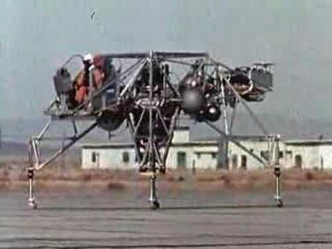 Early Lunar Landing Research Vehicle (LLRV) Flight Test