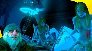 """Квест """"Пещера Снов"""" с летающим китом и главным страхом Геральта в Ведьмак 3"""