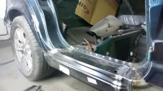 Ремонт кузова БМВ 525. Косметический ремонт порогов.(Косметический ремонт БМВ 525 в кузове Е-34.Планировалось обойтись малым., 2017-01-25T16:36:02.000Z)