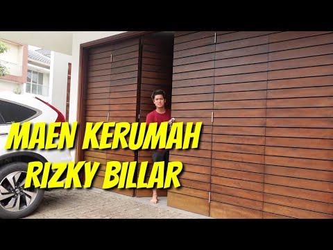 MAEN KERUMAH RIZKY BILLAR