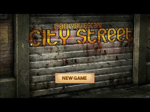 Can You Escape City Street Walkthrough