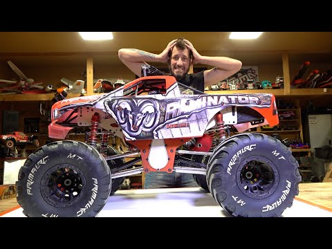WHAT HAPPENED TO MY RAMINATOR MONSTER TRUCK? | RC ADVENTURES