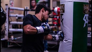 King Ryan Garcia DESTROYS the heavy bag!!!