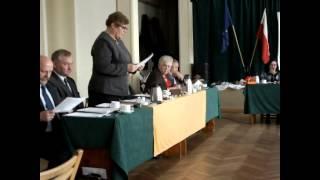Jeziorany, sesja Rady Miejskiej, 30 października   skargi obywateli