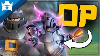 THIS CRAZY DECK DOMINATES IN CLASH ROYALE! || OP Pekka Mega Knight Deck for Challenges!