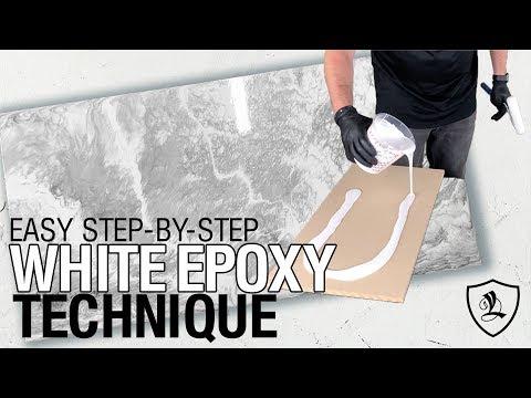 Easy White Epoxy Technique | Part 3