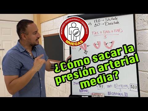 ¿Cómo sacar la presión arterial media? Cápsula académica..
