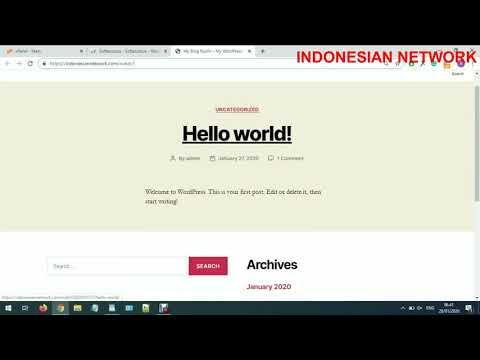tutorial-cara-install-website-wordpress-di-cpanel