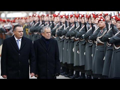 Austria's President Van der Bellen sworn in, decrying populism