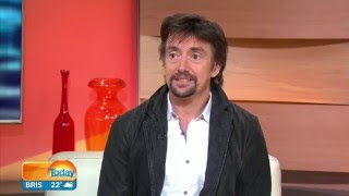 Former 'Top Gear' star Richard Hammond joins TODAY