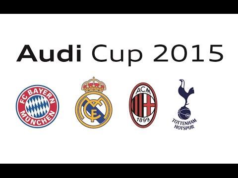 2015 Audi Cup All Goals