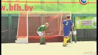 В финале юношеского чемпионата Европы по хоккею на траве Беларусь уступила Украине