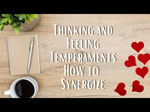 Thinking and Feeling Understanding Temperament in Relationships and Recovery