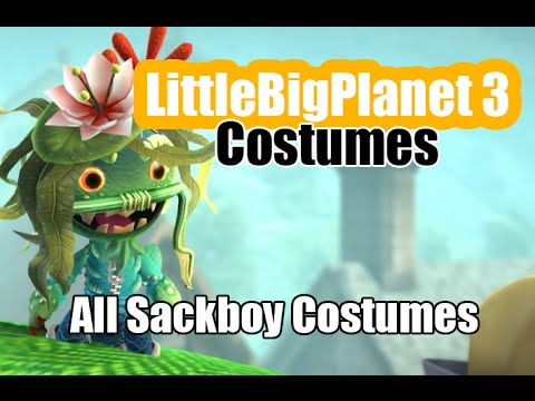 Little Big Planet Outfits