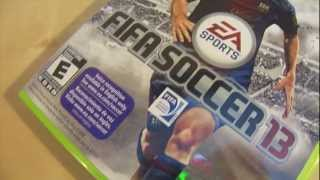 FIFA 13 Unboxing (Xbox360)