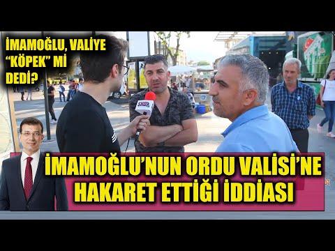 EKREM İMAMOĞLU, ORDU VALİSİ'NE \