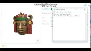 Roblox | How to get (Lotht) Olmec Mask