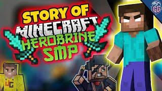 """Herobrine SMP Story"" || Minecraft Herobrine SMP || Techno Gamerz & Total Gaming fight in SMP"