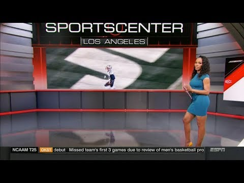 espn reporter dating falcons tight end