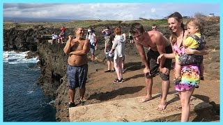CLIFF JUMPING IN HAWAII!