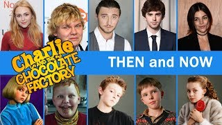 Charlie And The Chocolate Factory Movie Cast Then And Now - Where Are They Now??